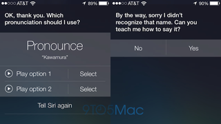 Illustration for article titled Siri Actually Cares How Names Are Pronounced in iOS 7