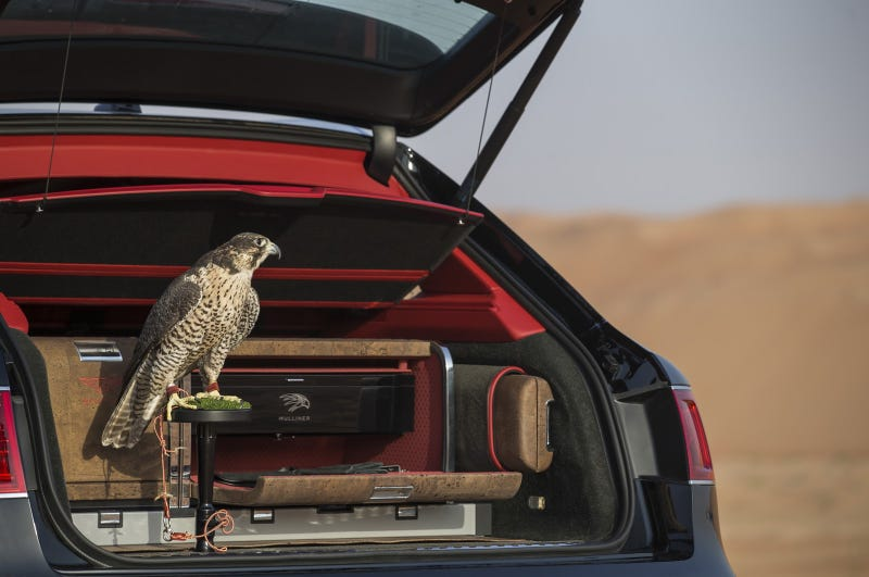 Illustration for article titled At Long Last: Bentley Makes A Bentayga For Falconry