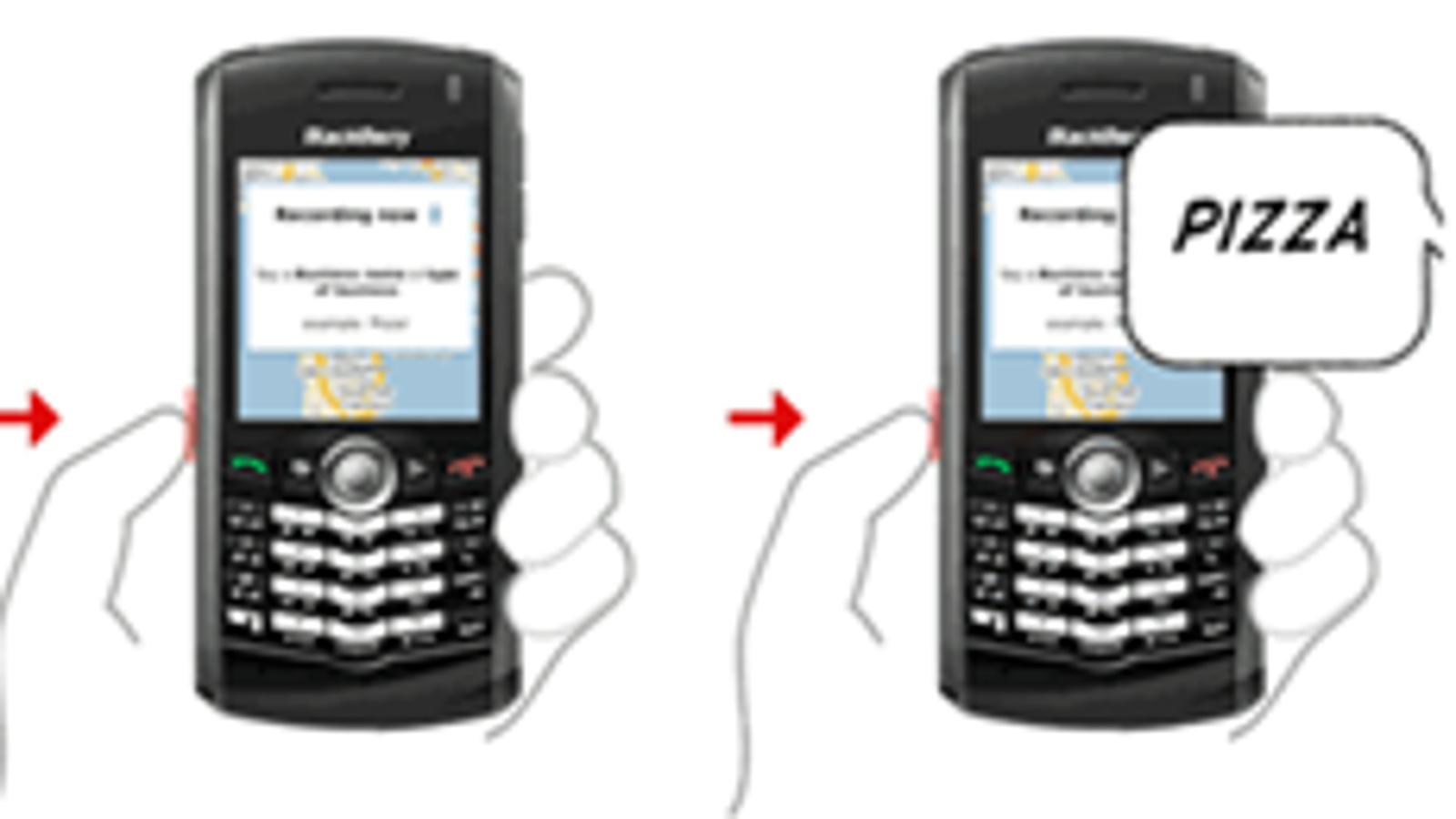 BlackBerry Pearl Gets Google Maps with Voice Search