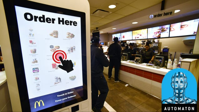 This Was the Year the Robot Takeover of Service Jobs Began