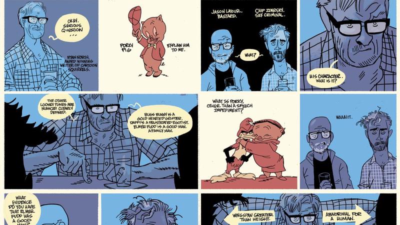 All illustrations courtesy of Jason Latour.