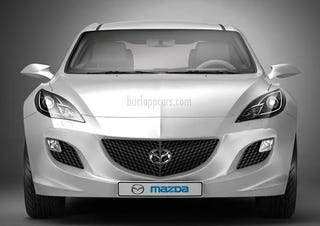 Illustration for article titled Probably Not The 2010 Mazda3, But It Sure Is Pretty
