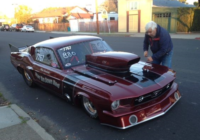 Illustration for article titled Thieves Steal Retiree's '67 Mustang Drag Racer From Right In Front Of His House