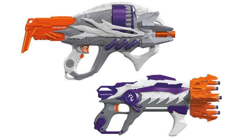 Illustration for article titled Nerf's New Alien Menace Blasters Look Straight Out of a Halo Game