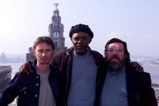 Illustration for article titled Samuel L. Jackson Is The New Face Of Liverpool Fans' Anti- Gillett/Hicks Campaign