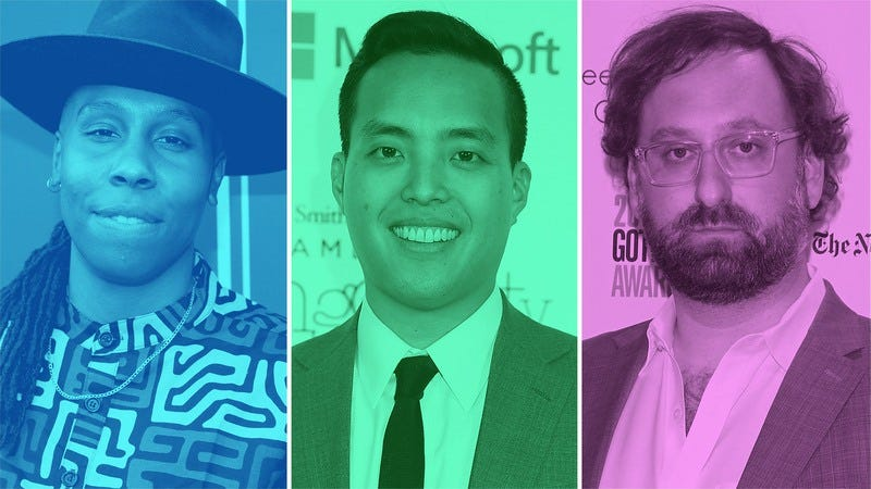 Lena Waithe (Photo: Jonathan Leibson/Getty Images), Alan Yang (Leah Puttkammer/Getty Images), and Eric Wareheim (Photo: Jim Spellman/Getty Images)