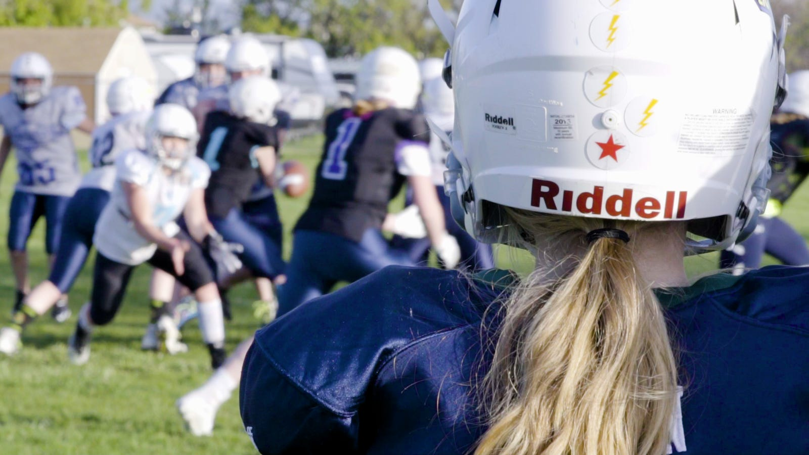 This Football League Was Built For Girls Who Love To Hit