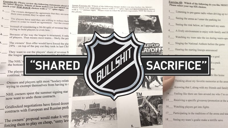 Illustration for article titled Inside A Secret NHL Focus Group: How A Top GOP Strategist Is Helping Hockey Owners Craft Their Lockout Propaganda