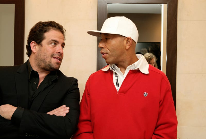 Brett Ratner and Russell Simmons  on May 11, 2006, in New York. (Amy Sussman/Getty Images)