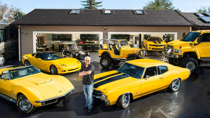 Illustration for article titled Here Are All The Cars Guy Fieri Has Ruined