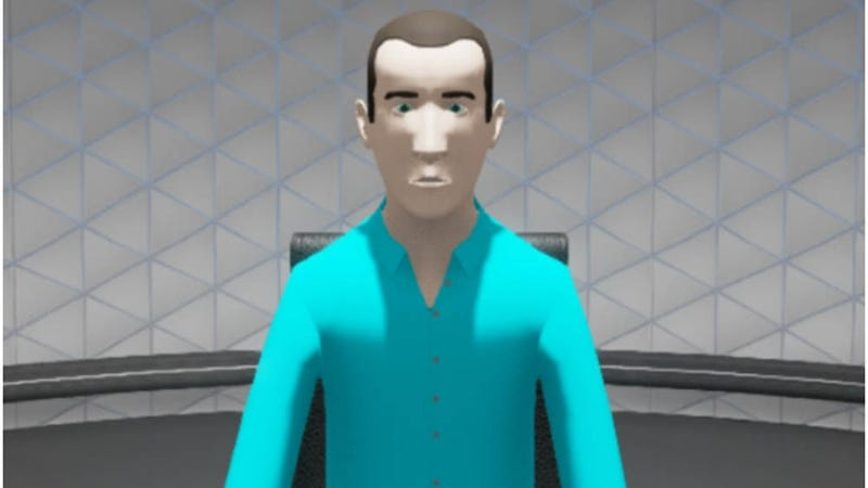 This virtual avatar might not be a looker, but a recent study suggests he's better than a human interviewer at getting accurate information about a crime from a witness.