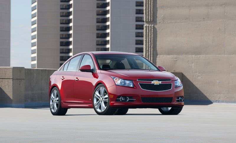 Illustration for article titled Chevrolet Cruze Launched GM's Global Sales Success