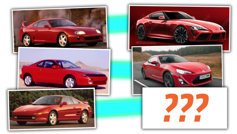 Illustration for article titled Toyota Hints At New MR2 And Three-Sports Car Lineup