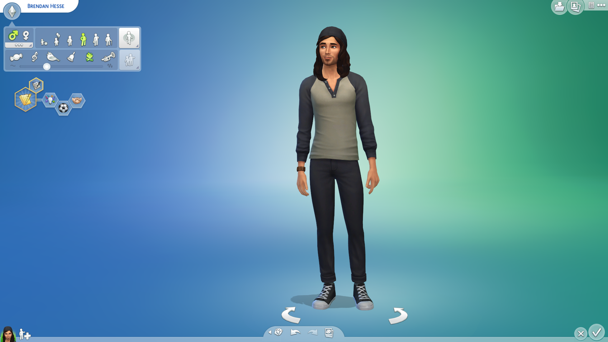 sims 4 sims download cc included