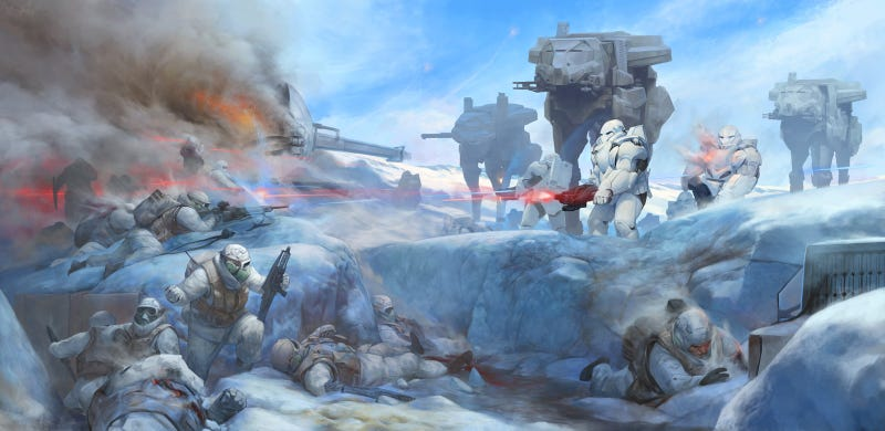 Illustration for article titled Wait, That's Not How I Remember The Battle Of Hoth...