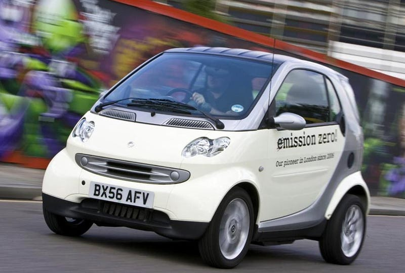 Illustration for article titled Smart ForTwo EV Going On Sale In UK, Testing In Other Euro Cities