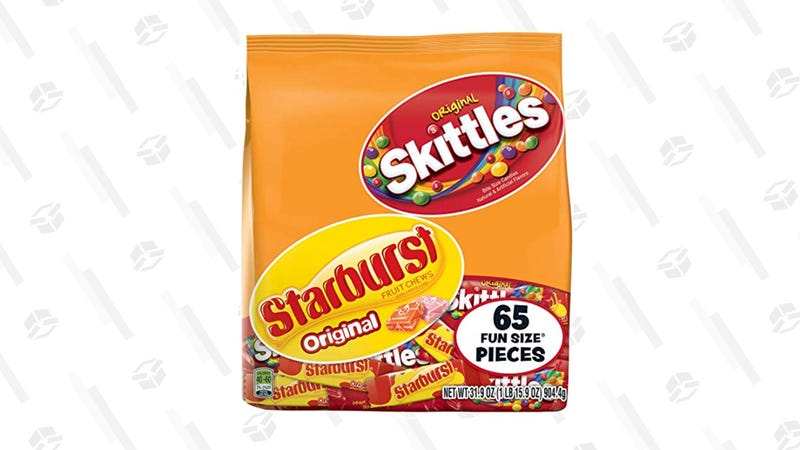 Skittles and Starburst Fun Size Variety Mix | $8 | Amazon