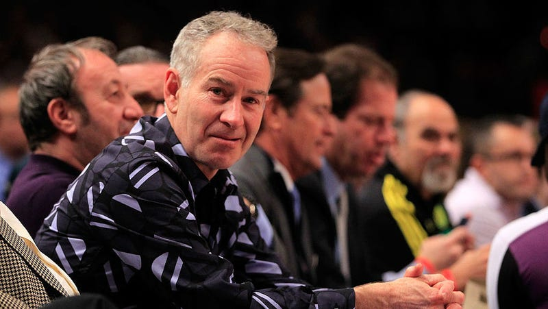 McEnroe says Williams would be ranked 'like 700' on men's tour