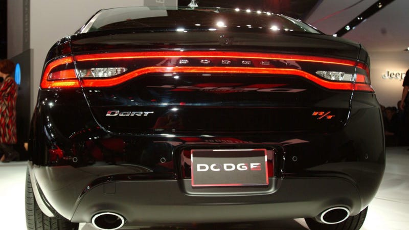 The Dodge Dart Has A Really Hot Rear End