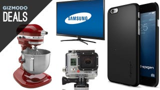 Illustration for article titled A KitchenAid Your Can Afford, iPhone 6 Cases, $150 GoPro White [Deals]