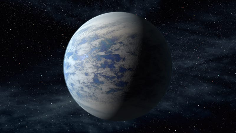 Illustration for article titled What a Habitable Planet Twice the Size of Earth Would Be Like