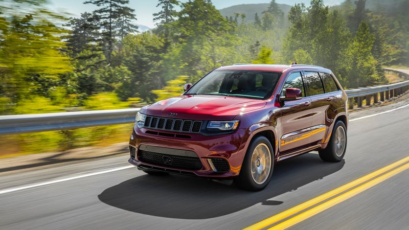 2018 Jeep Grand Cherokee Trackhawk Srt Recalled For Floor Mats That Could Trap The Gas Pedal