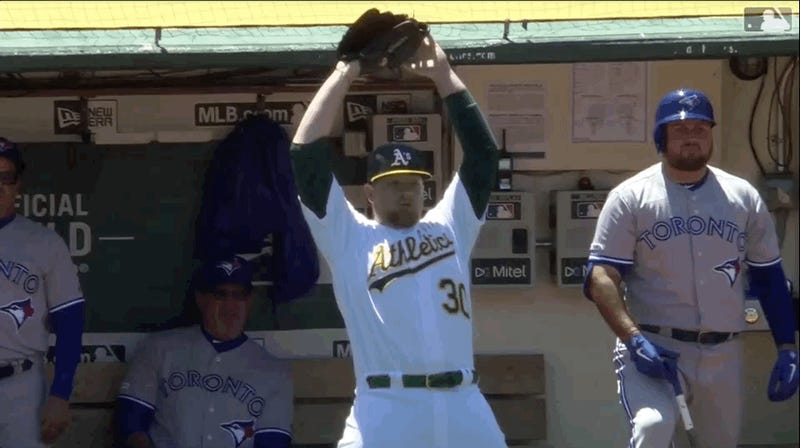 Brett Anderson Had The Best Seat In The House For The Athletics' Chaotically Beautiful Double Play