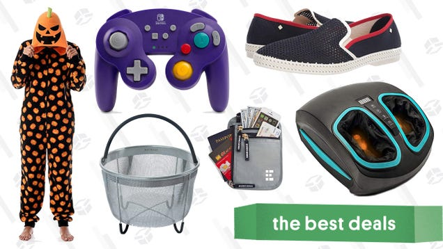 Saturday s Best Deals: Thermapen Classic, Foot Massager, Neck Wallet, and More