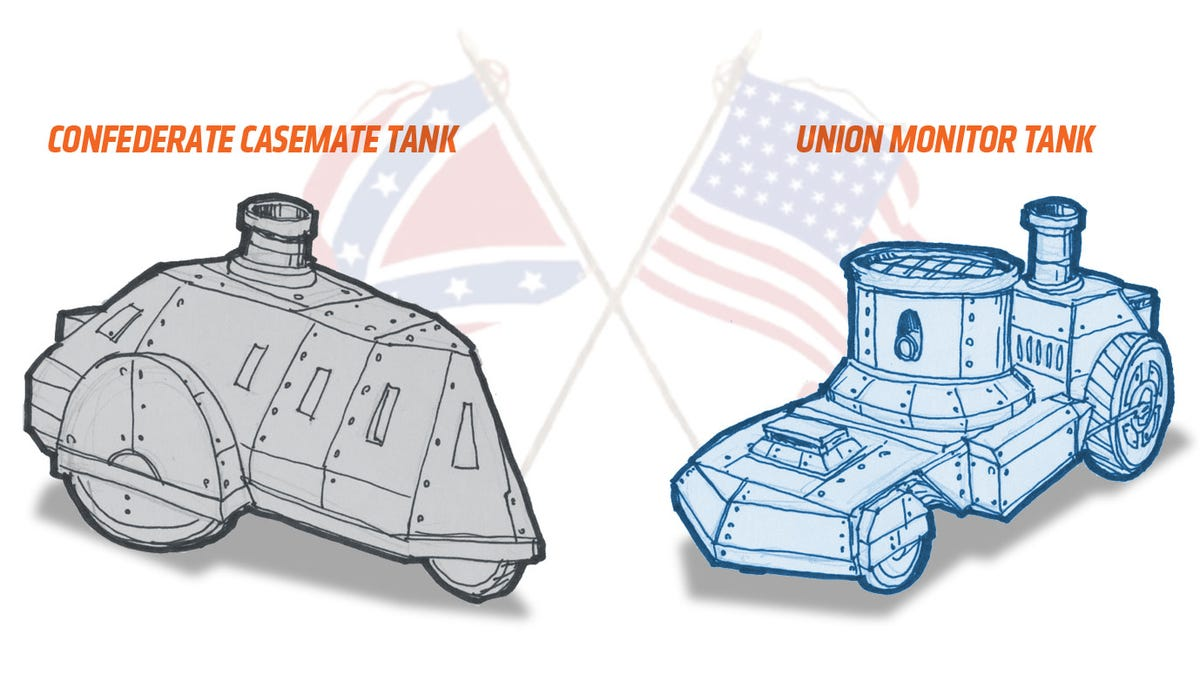 Why Were There No Tanks In The Civil War?