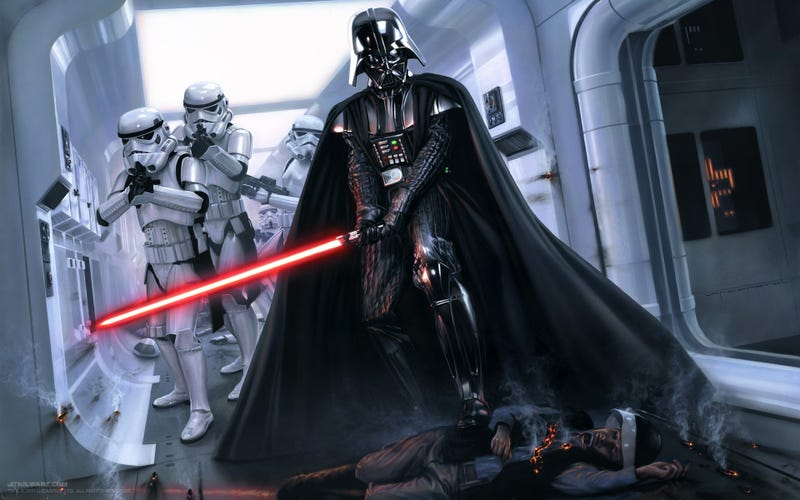 Illustration for article titled Darth Vader Will Appear in the First Star Wars Spin-Off, Rogue One