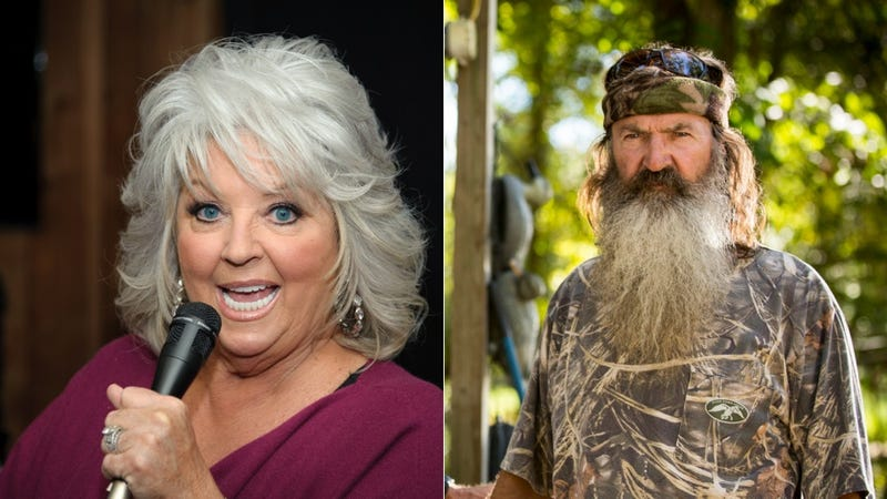 Illustration for article titled Kind Bigot Paula Deen Empathizes with Other Bigots Like Phil Robertson
