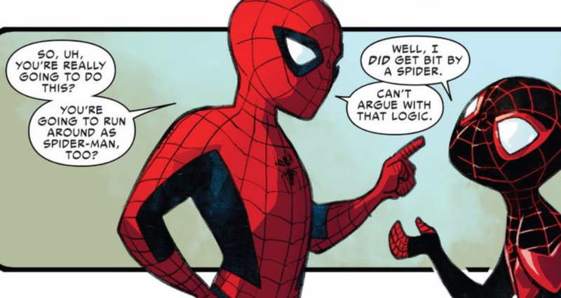 Spider-Man Is Totally Okay With Letting Someone Else Be Spider-Man