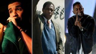 Drake; Idris Elba; Kendrick LamarAnna Webber/Getty Images; Handout/Getty Images; Kevin Winter/Getty Images