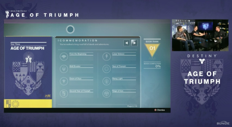 destiny will come to an end with t-shirts