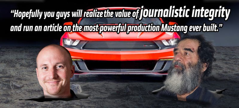 Illustration for article titled This Tuned Mustang Made Me 'Realize The Value Of Journalistic Integrity'