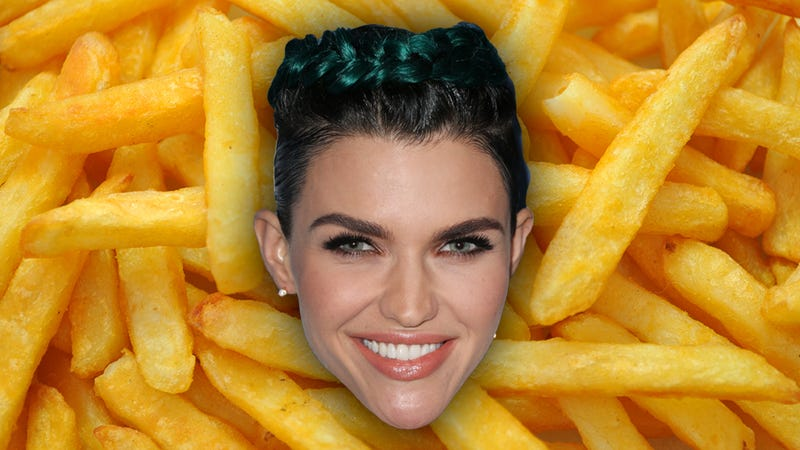 Illustration for article titled Ruby Rose Apologized to a French Fry