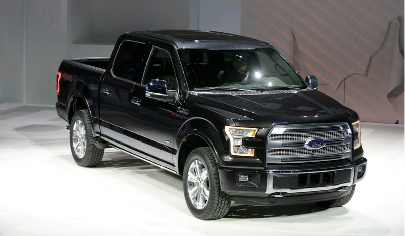 Illustration for article titled The 2015 Ford F-150 Looks Even Better Live