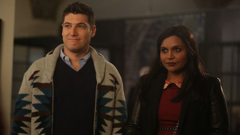 Illustration for article titled Let's try that Adam Pally guest spot again, Mindy Project