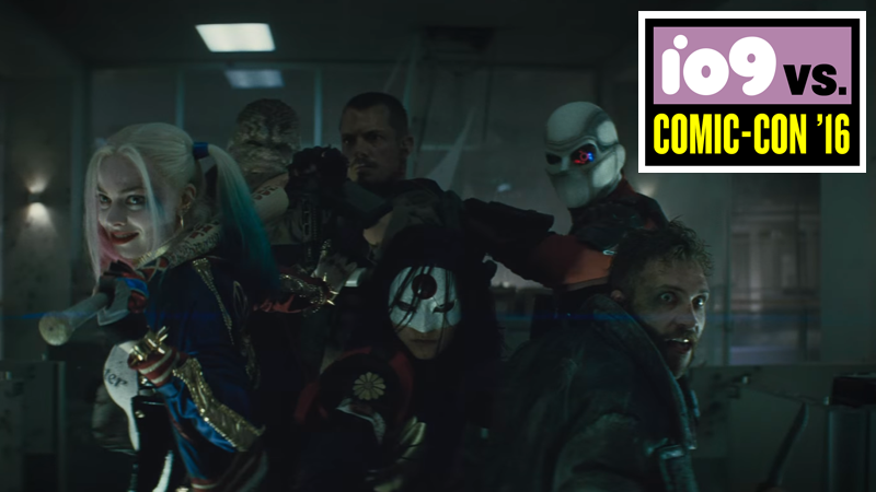 Illustration for article titled The Latest Suicide Squad Trailer Brings on the Bad Guys, and Then Brings the Noise