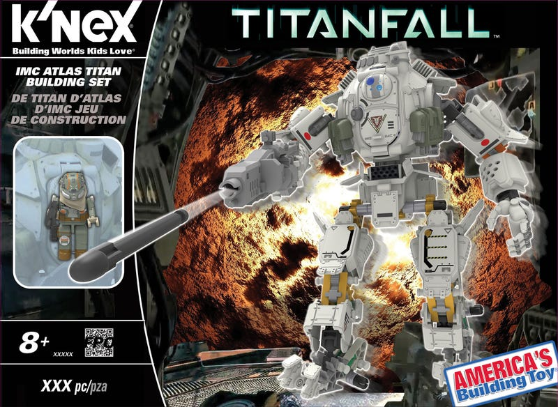 Illustration for article titled I'll Take All The Titanfall K'nex Building Toys Now, Please