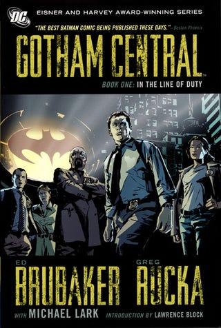 Illustration for article titled Where's My Goddamn Gotham Central TV Show?