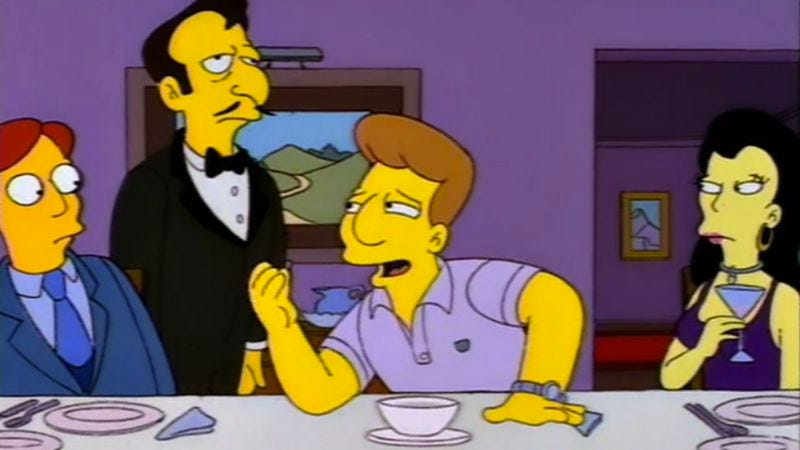 """The Simpsons (Classic): """"The Boy Who Knew Too Much"""""""