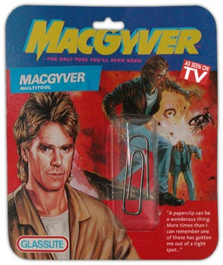 Illustration for article titled The Only Gadget MacGyver Needs