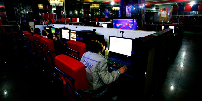 Spending our youth like it was meant to be spent - inside the dimly lit halls of an internet cafe. Source:https://s-i.huffpost.com/gen/2508554/images/o-CHINA-INTERNET-CAFE-facebook.jpg