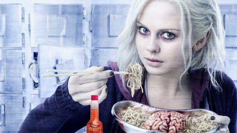 Illustration for article titled iZombie feeds the craving for quick wit left by Veronica Mars (and then some)