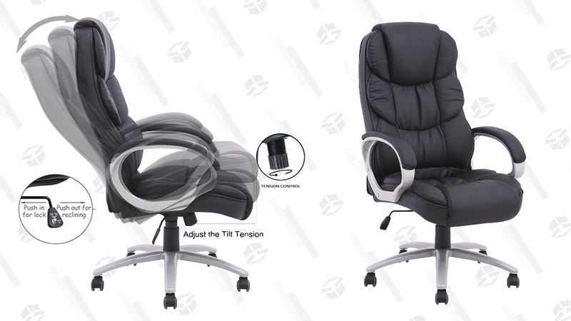 BestOffice Ergonomic PU Leather High Back Office Chair | $70 | Best Choice Products | Promo code BOSS15