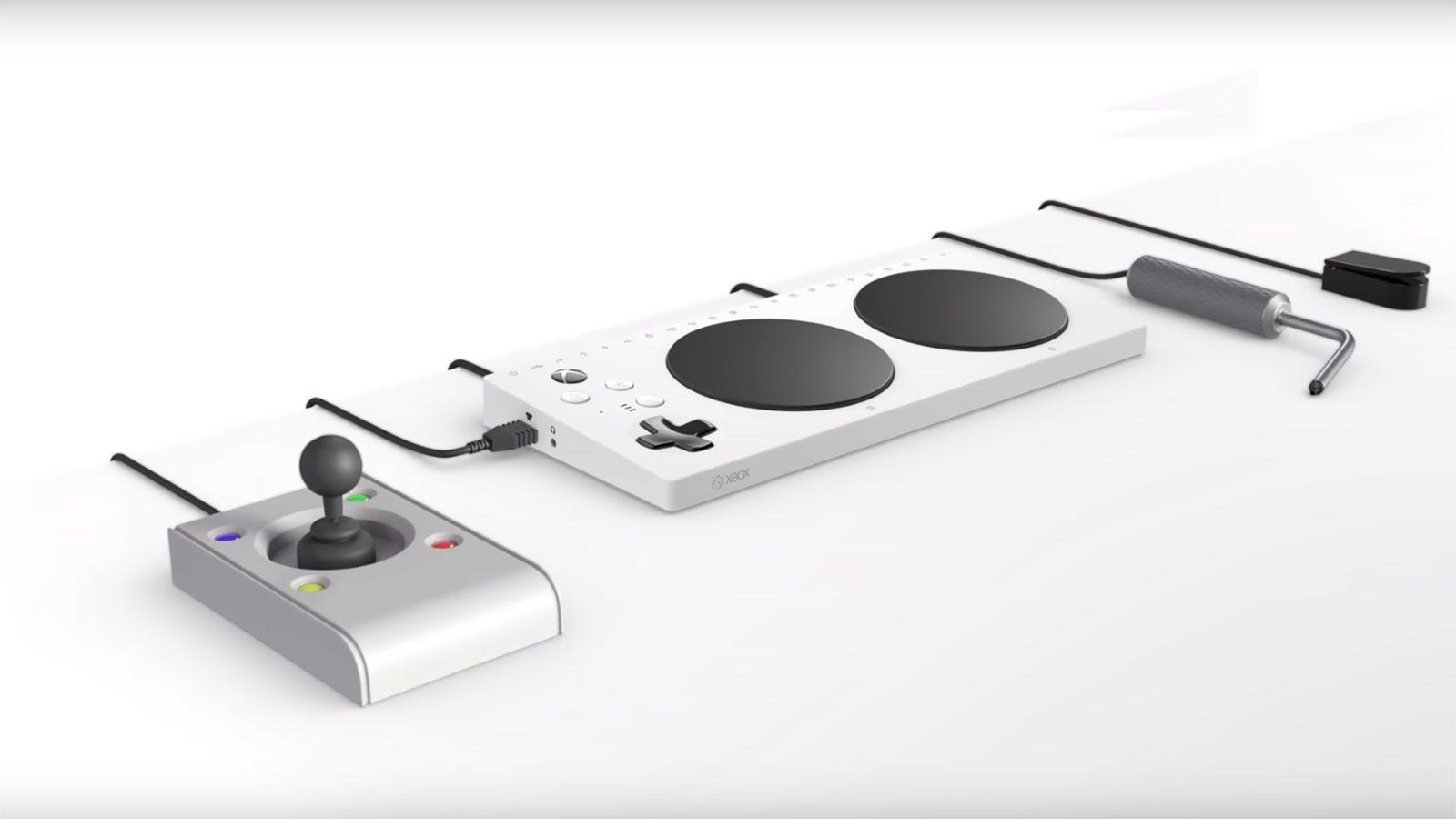 photo image Microsoft's Controller for Gamers With Limited Mobility Comes with 19 3.5mm Jacks