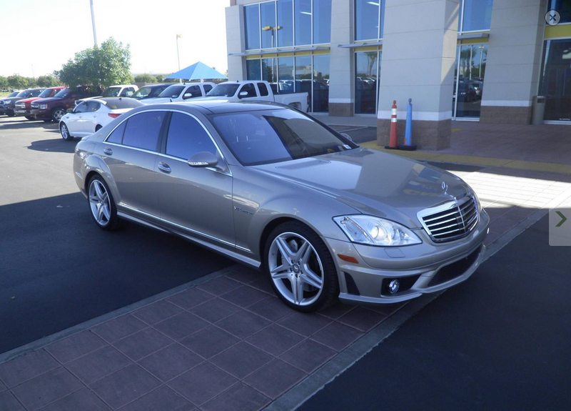 Illustration for article titled For $59,998, You Can Own This Warrantied 2008 Mercedes S65 AMG