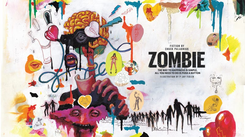 Illustration for article titled Zombie: A New Original Short Story by Chuck Palahniuk