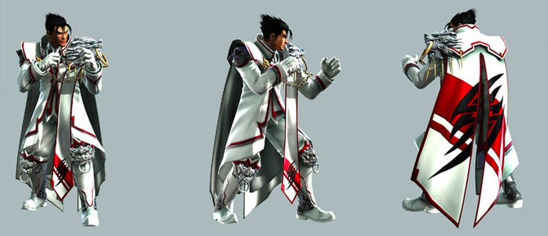 Illustration for article titled Tekken 6 CLAMP Outift In Focus